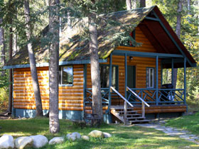 cedar point cabin at Mt Robson