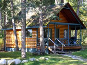 cedar point cabin at Mt Robson