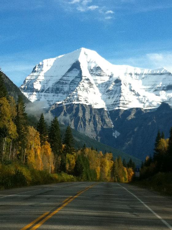 Mt. Robson climbing
